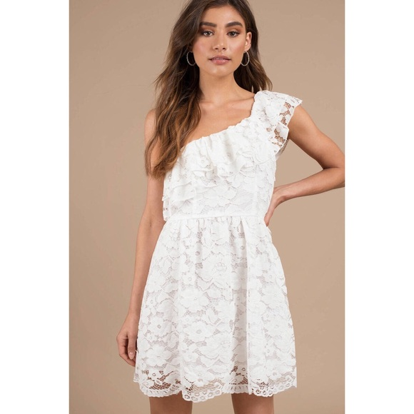 3c0a1bb5d60  SALE  NWT Tobi For Dreamers White Lace Dress